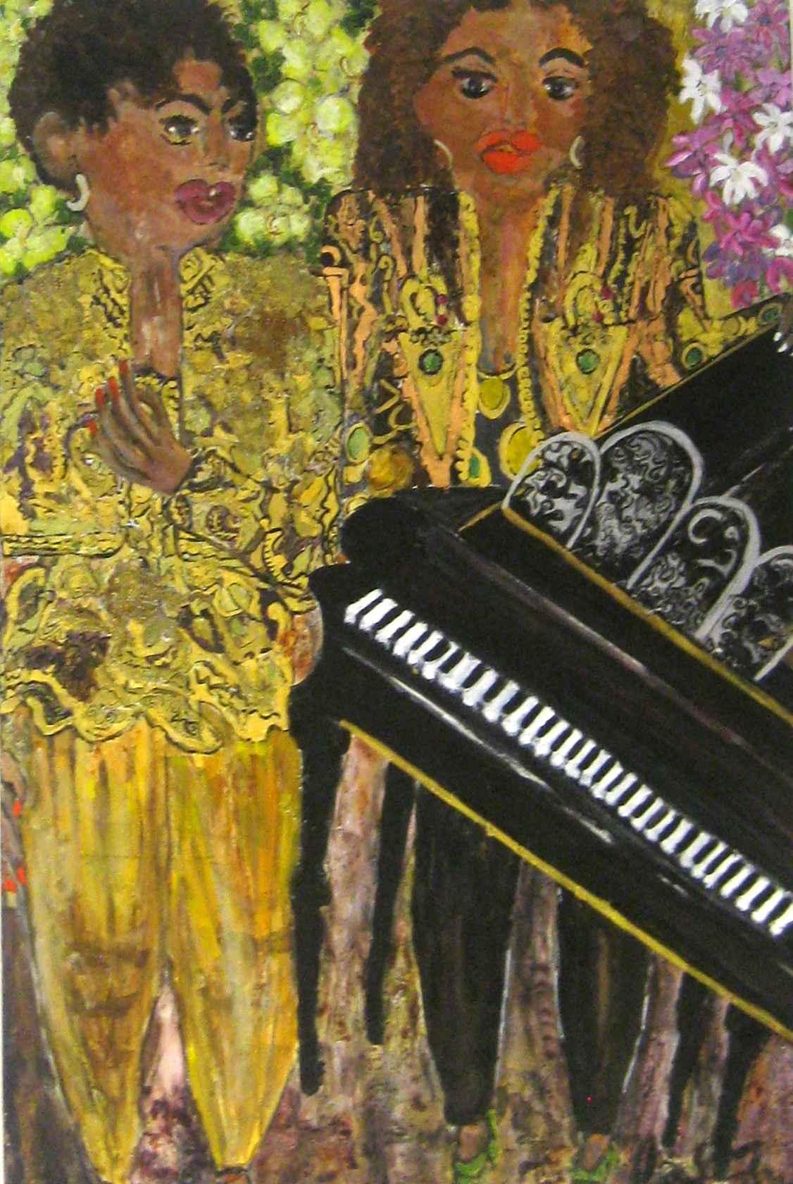 Bajan Golden Girls at... by Mrs. Carol Cadogan-Fox - Masterpiece Online