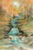 DP-REFLECTIONS OF FAL... by  P. Buckley Moss  - Masterpiece Online