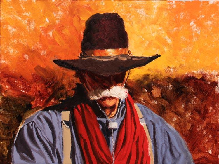 A NEW WORK- Charlie by  Glen Edwards - Masterpiece Online