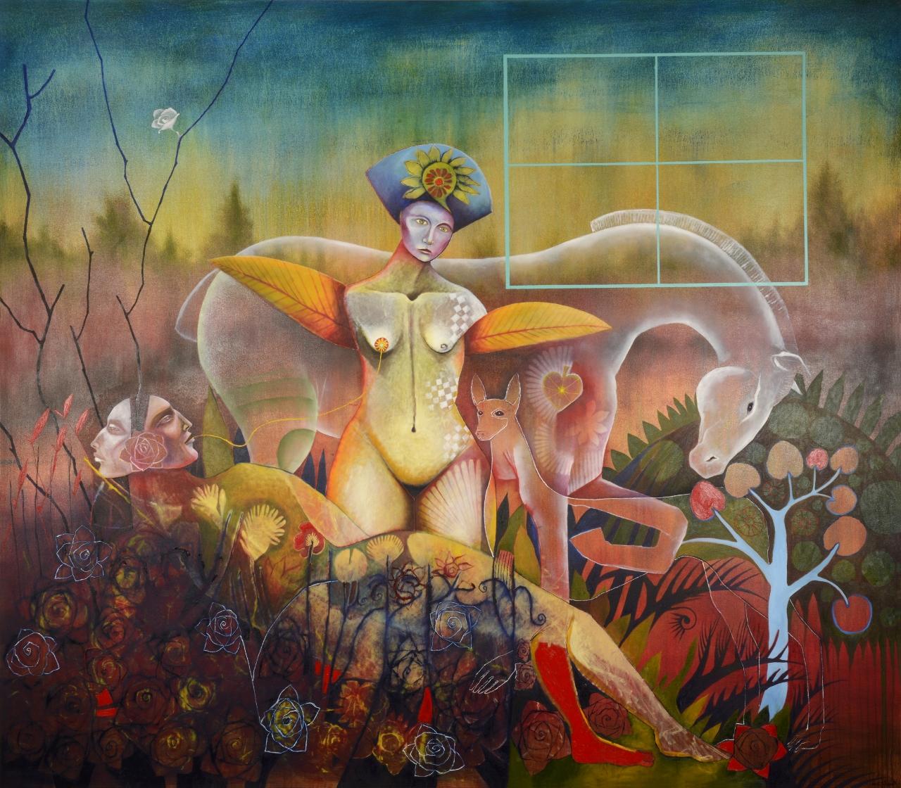 GARDEN DREAMSCAPE by Mr. RENE ALVARADO - Masterpiece Online