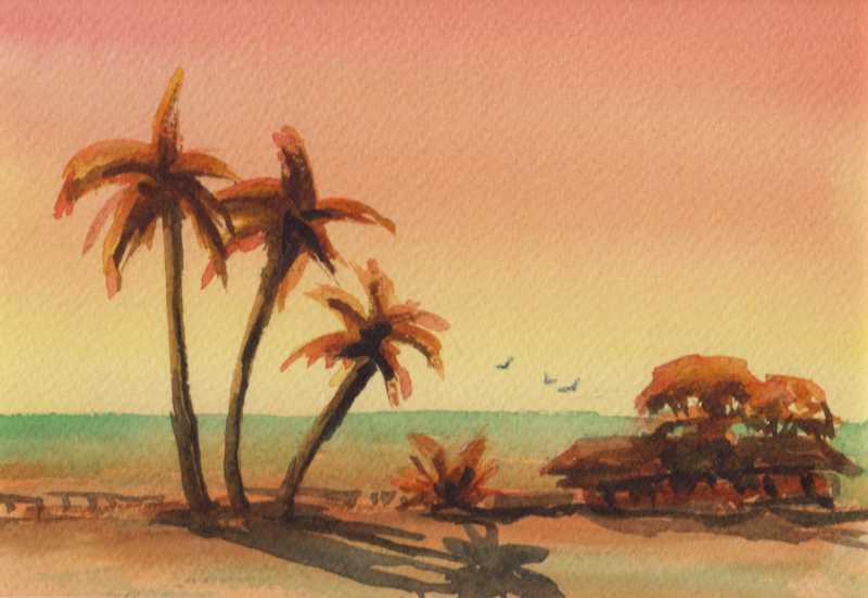 Kualoa Sunrise #1 by  Joan Fleming - Masterpiece Online