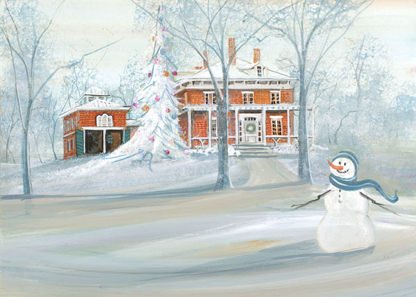 DP-Traveller's Welcome by  P. Buckley Moss  - Masterpiece Online