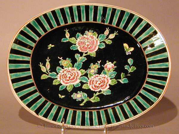 Handpainted Platter by  Japanese  - Masterpiece Online
