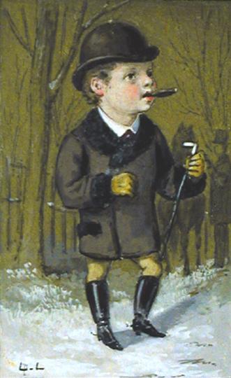 A Little Gent by  Luigi  Loir - Masterpiece Online