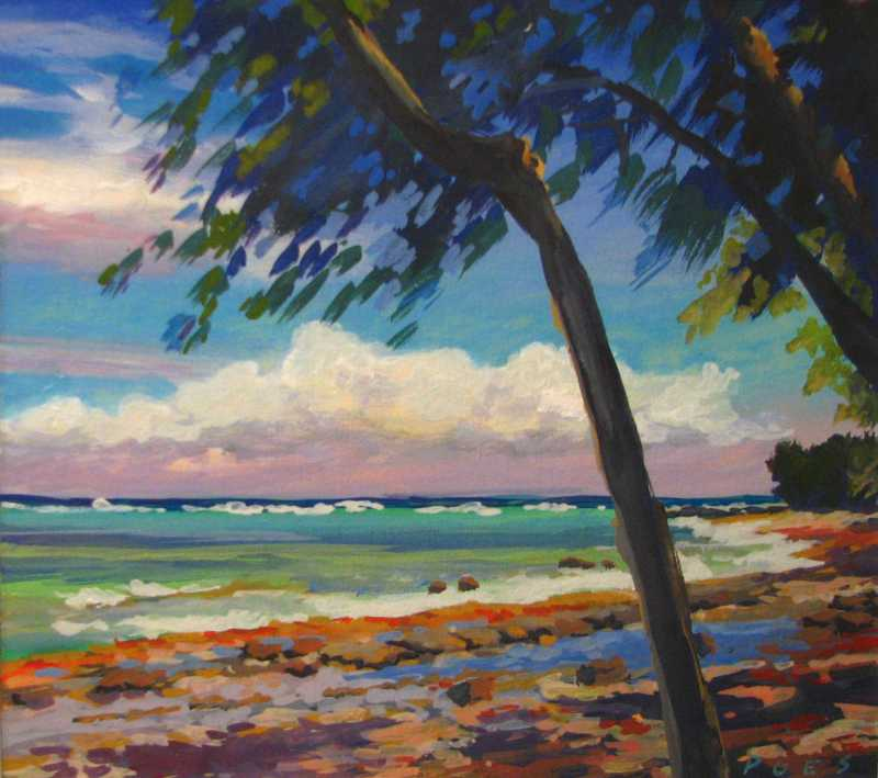 On Kahuku Point by  Nancy Poes - Masterpiece Online