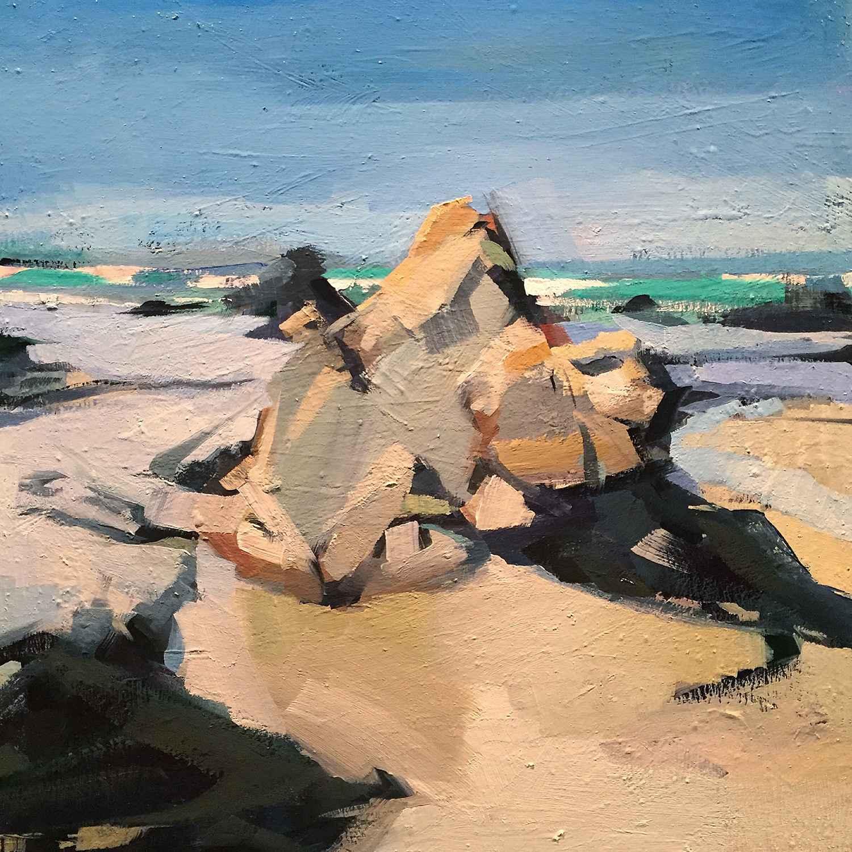 Study Near Spanish Bay by Mr. Lane Bennion - Masterpiece Online