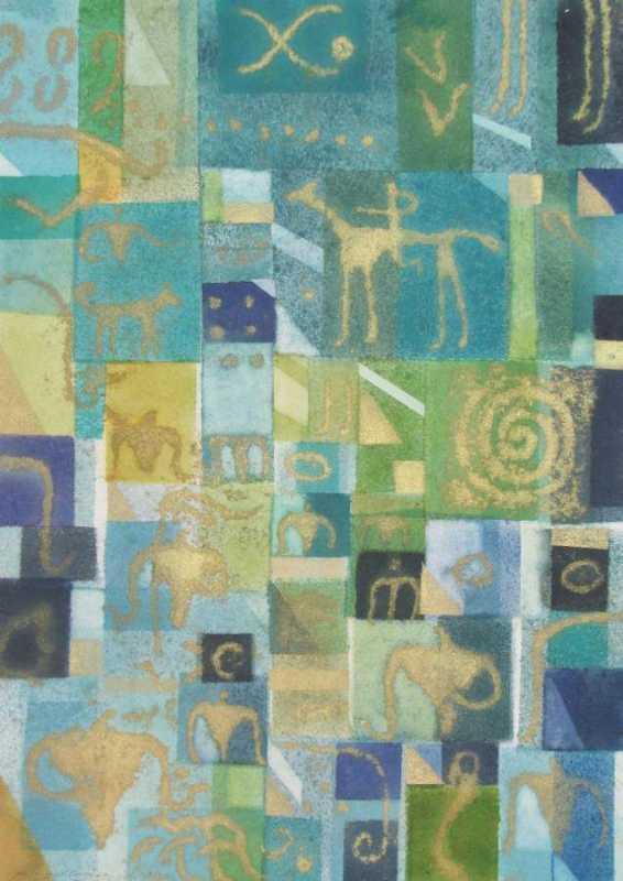 Island Quilt 08 by  Phil Gallagher - Masterpiece Online