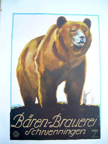 Baren Brauerei by  Ludwig Hohlwein - Masterpiece Online