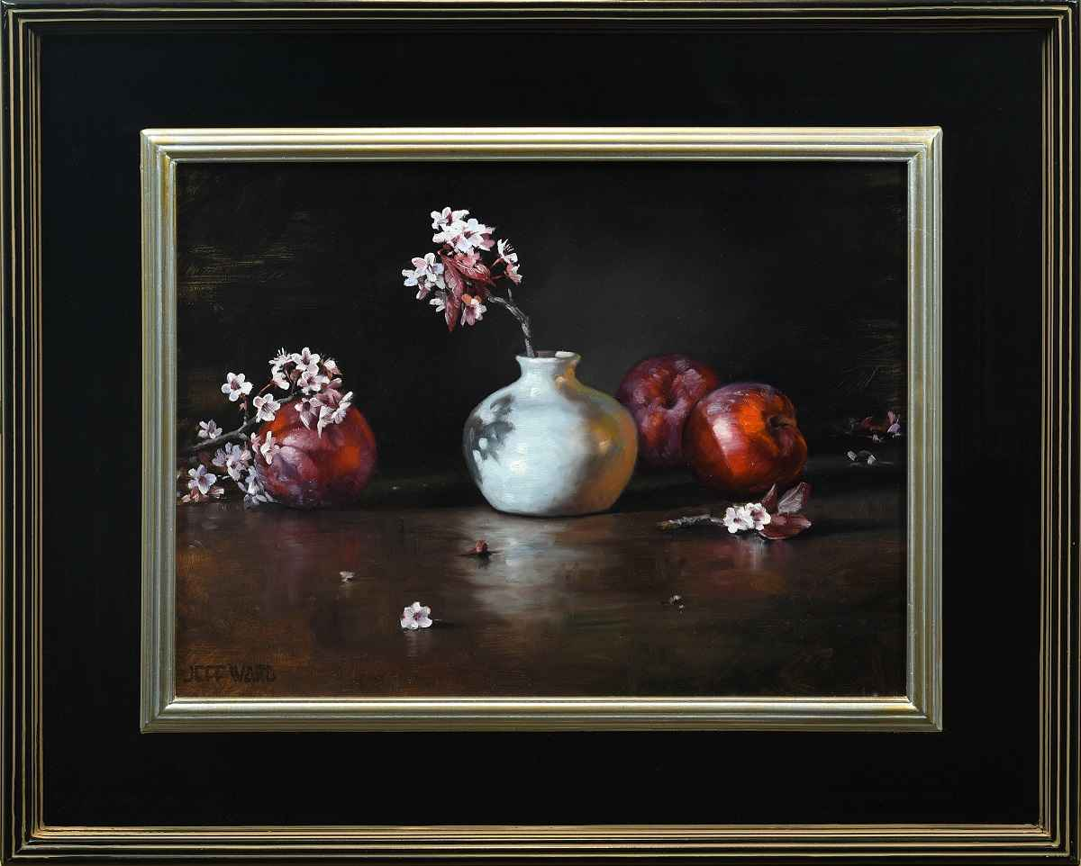 Plums and Blossoms by  Jeff Ward - Masterpiece Online