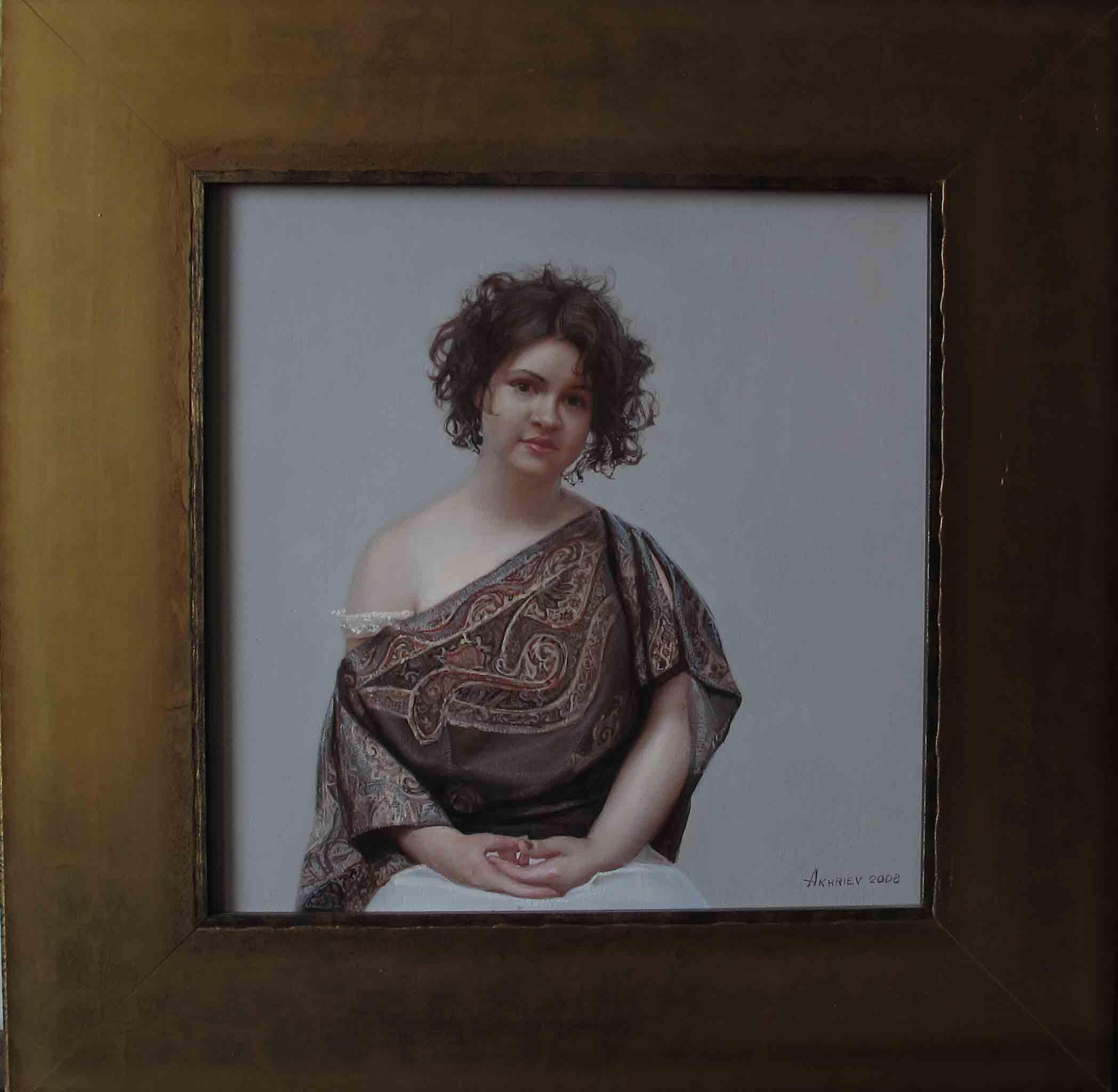 Kate, 1 by  Daud Akhriev - Masterpiece Online