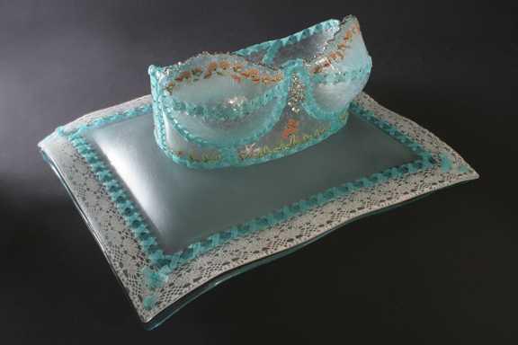 Royal Crown Sea Foam ...  by  Susan Taylor Glasgow