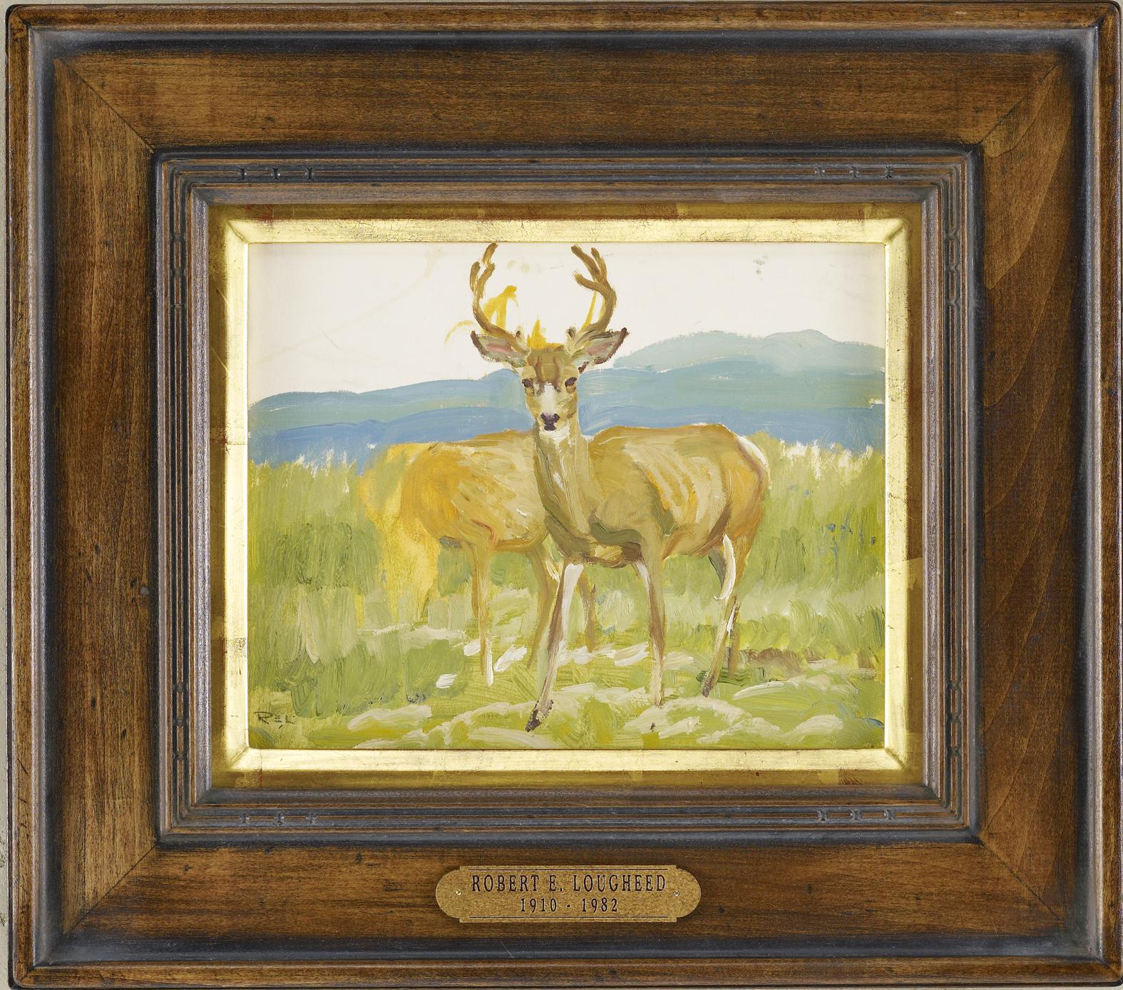 Buck Sketch by  Robert Lougheed - Masterpiece Online