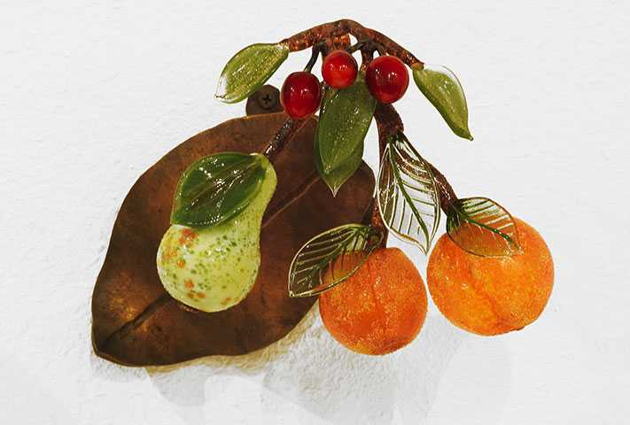 Wallpiece/Fruit Clust... by  Loy Allen - Masterpiece Online