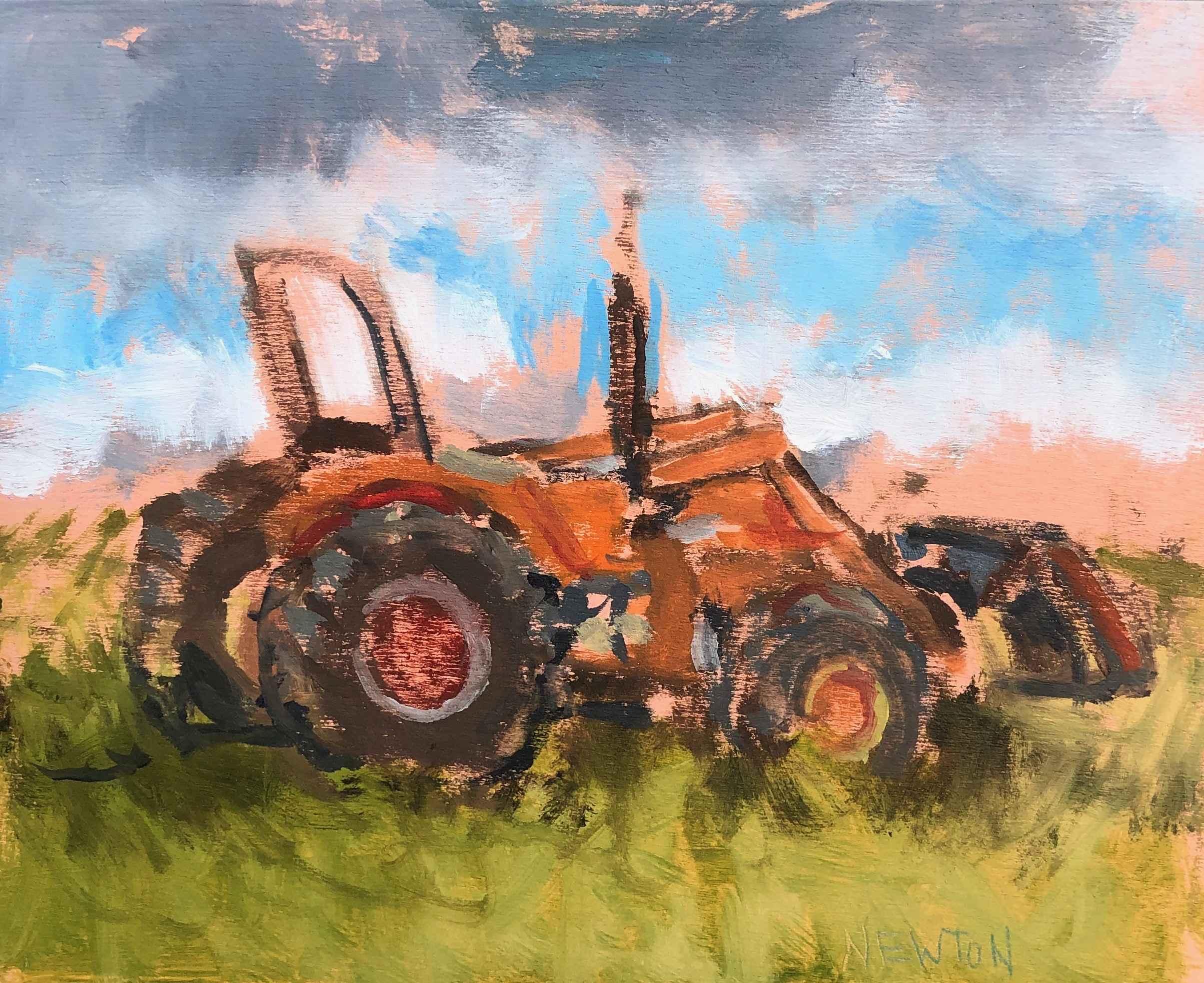 Allen Farm Tractor by  Brandon Newton - Masterpiece Online
