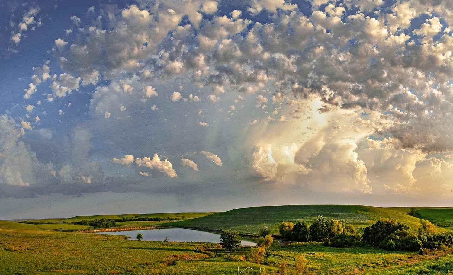 Flint Hills and Clouds