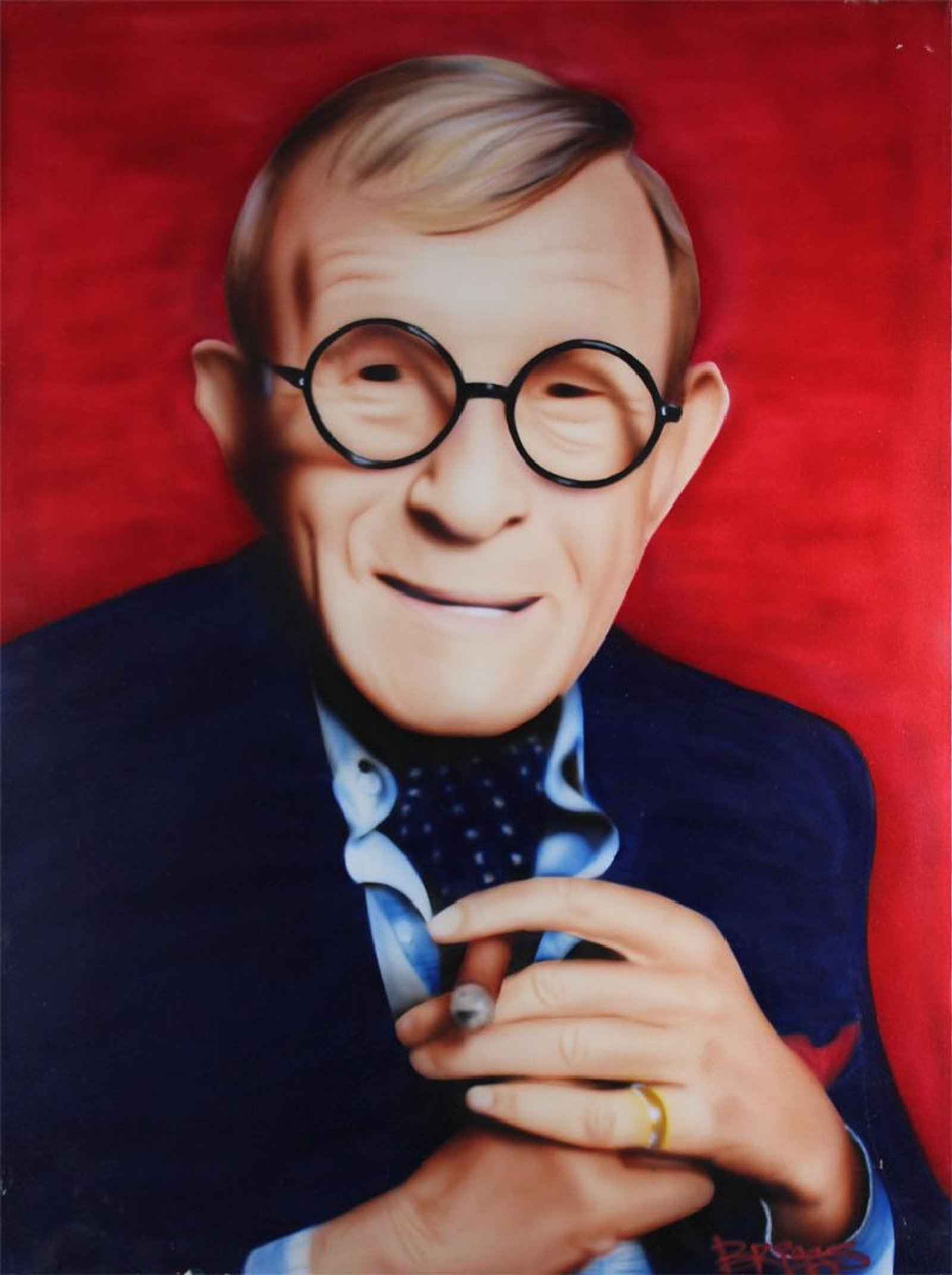 George Burns by  Bruce Briggs - Masterpiece Online