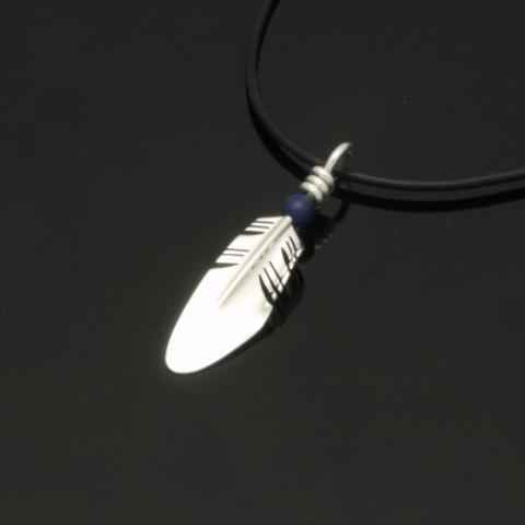 Small Feather Pendant... by  Ray Tracey - Masterpiece Online