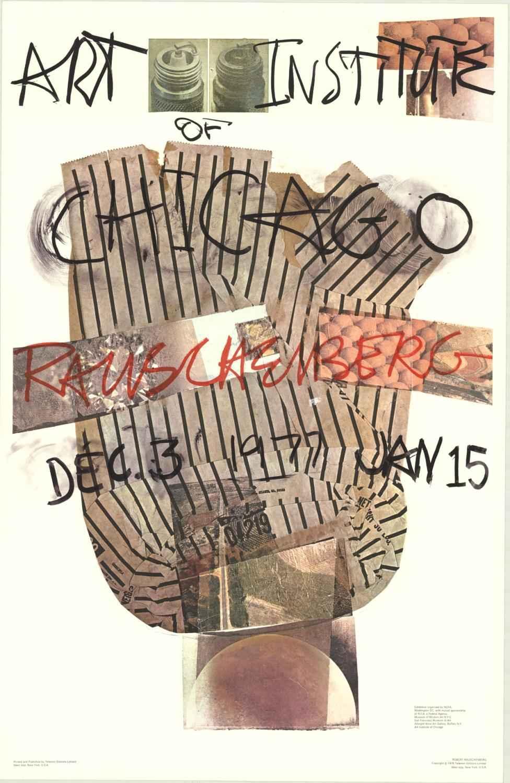Art Institute of Chic... by  Robert Rauschenberg - Masterpiece Online