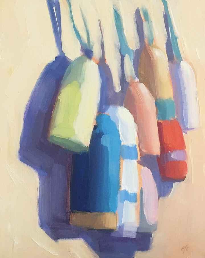 Buoys  by  Michael Chamberlain