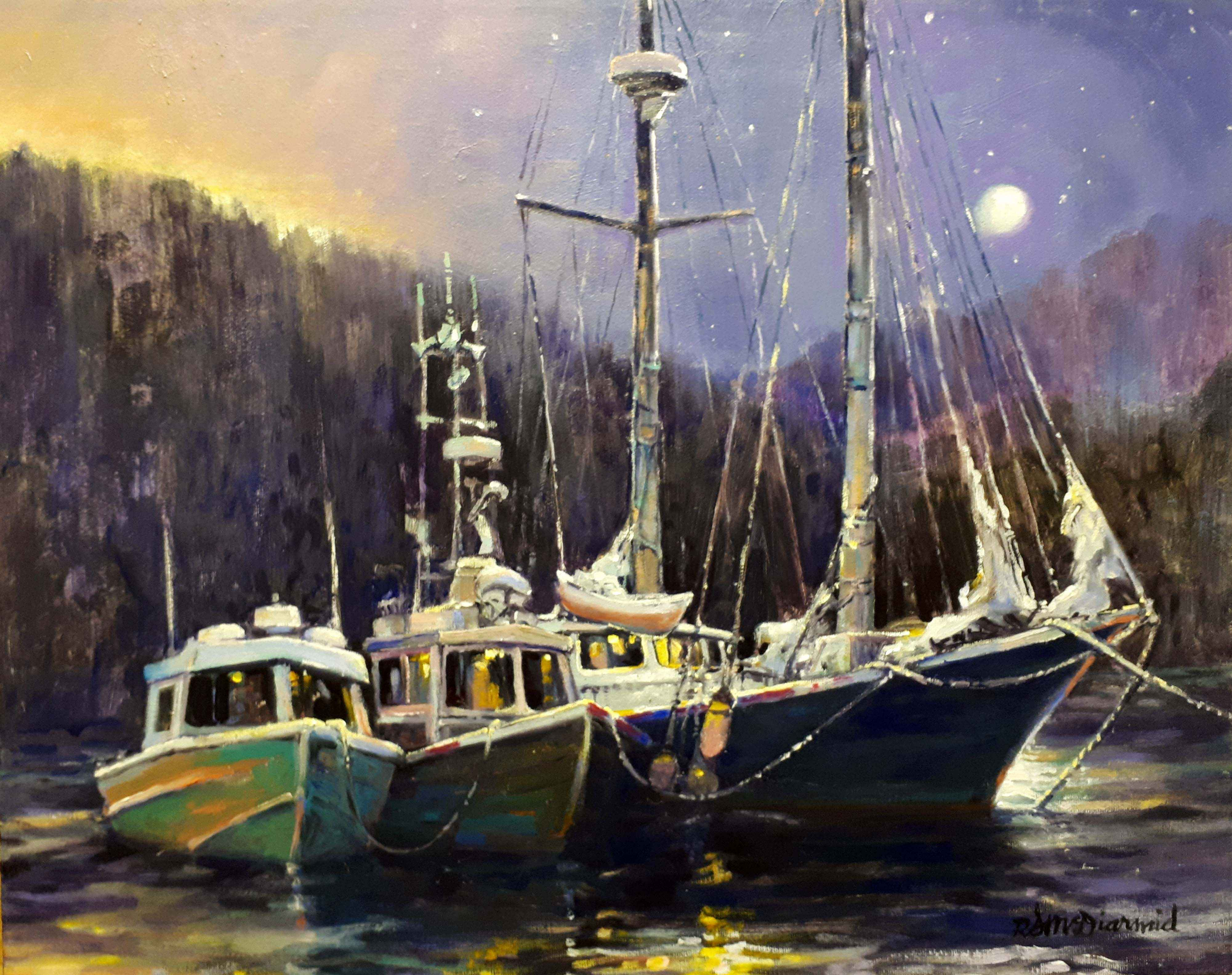 Nestled for the Night by  Rick McDiarmid - Masterpiece Online