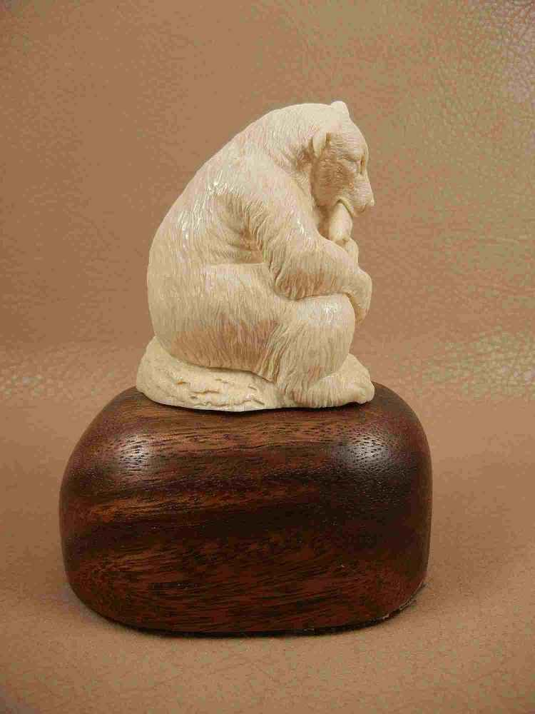 Bear Statue  by  Susan Tereba