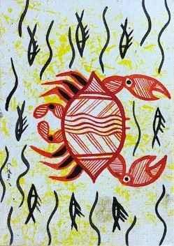 Mudcrab Postcard Pain... by Mr Troy (Jr) Conrad - Masterpiece Online