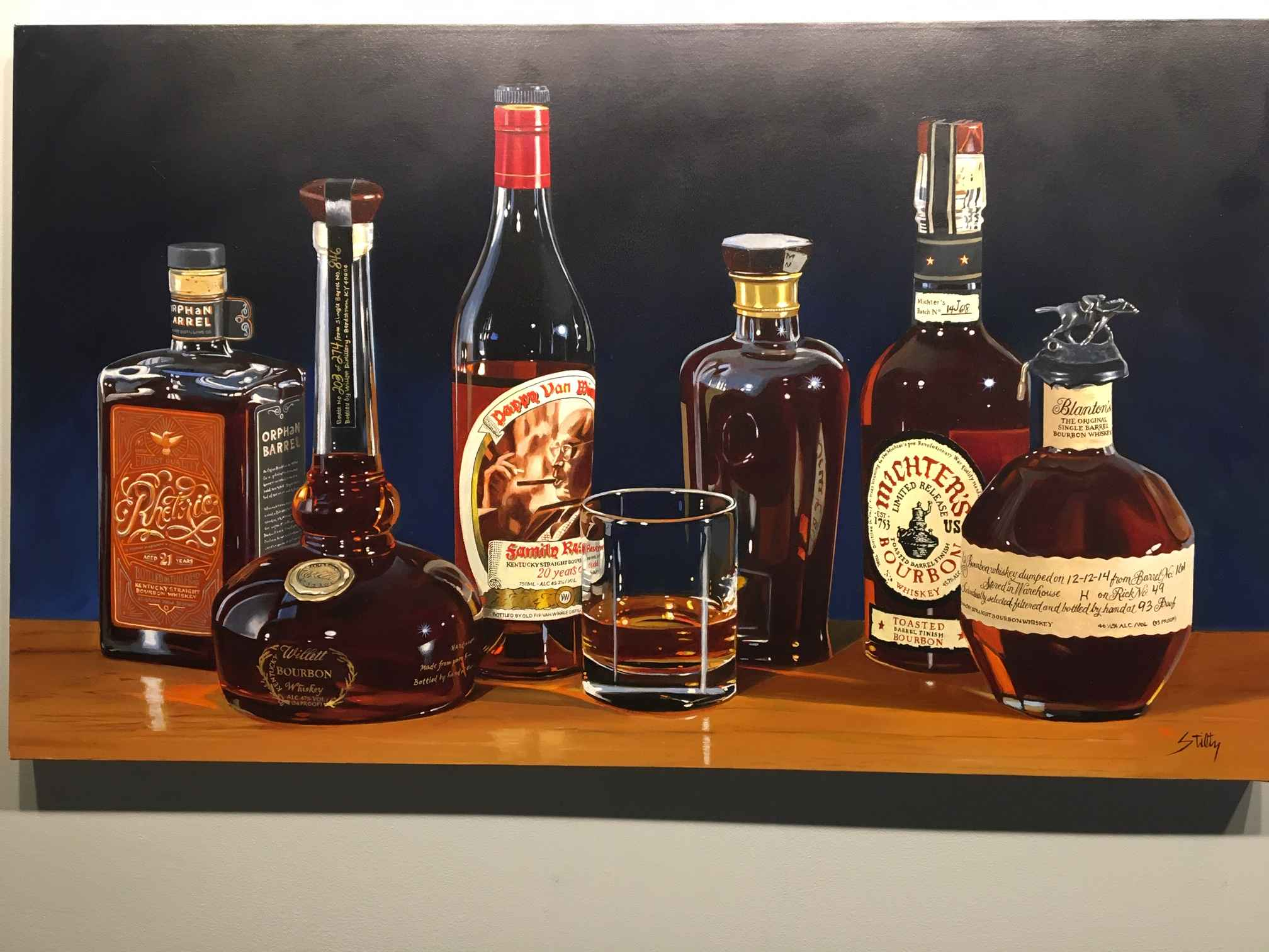 Grand Bourbon Tasting by   Stiltz, Thomas - Masterpiece Online