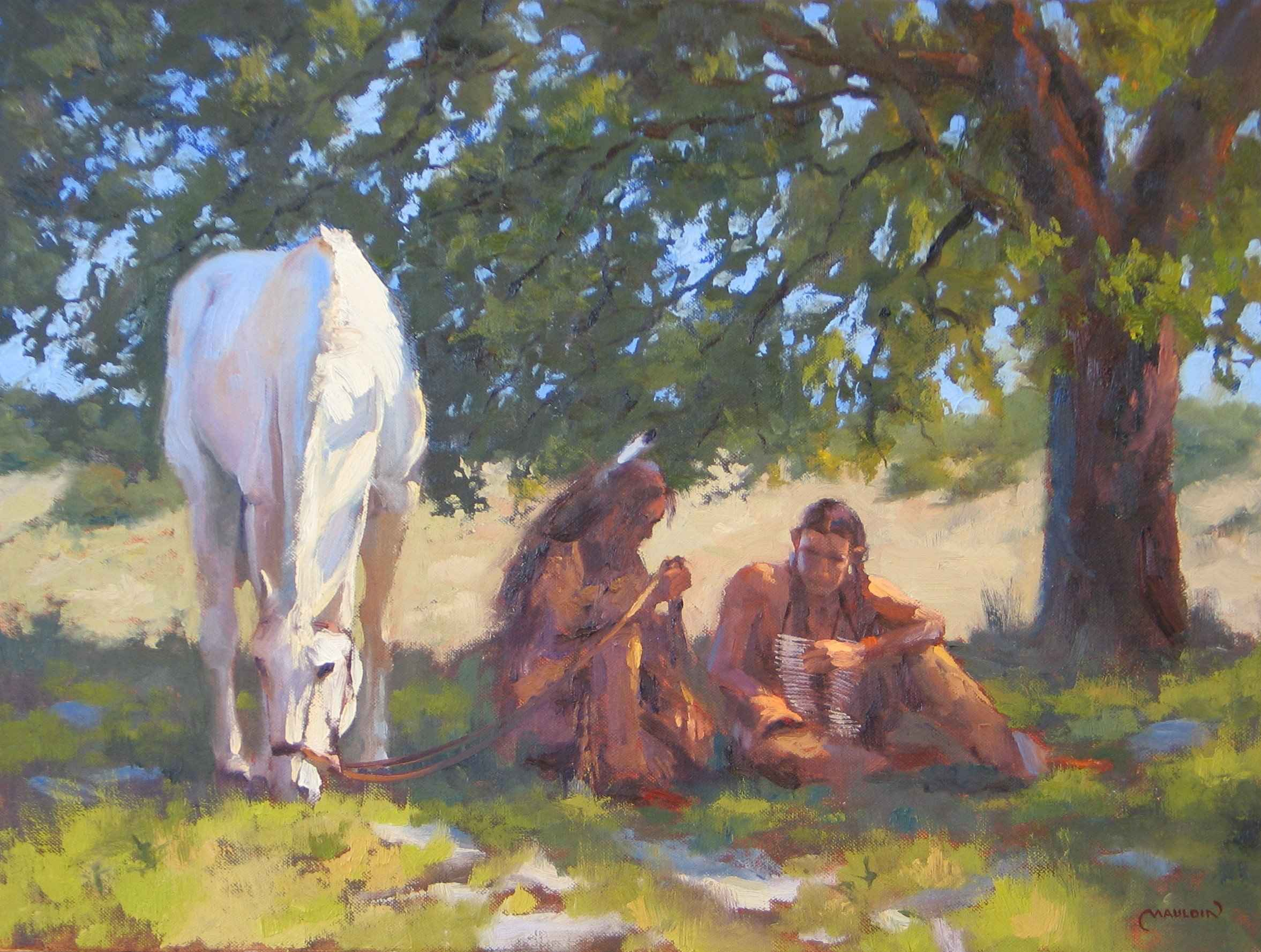Shady Moment by  Chuck Mauldin - Masterpiece Online