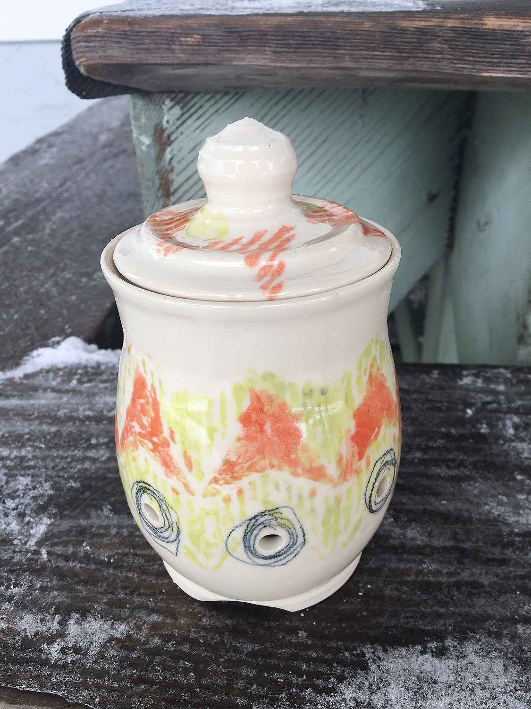 Garlic Jar by  Amy Hafemann - Masterpiece Online