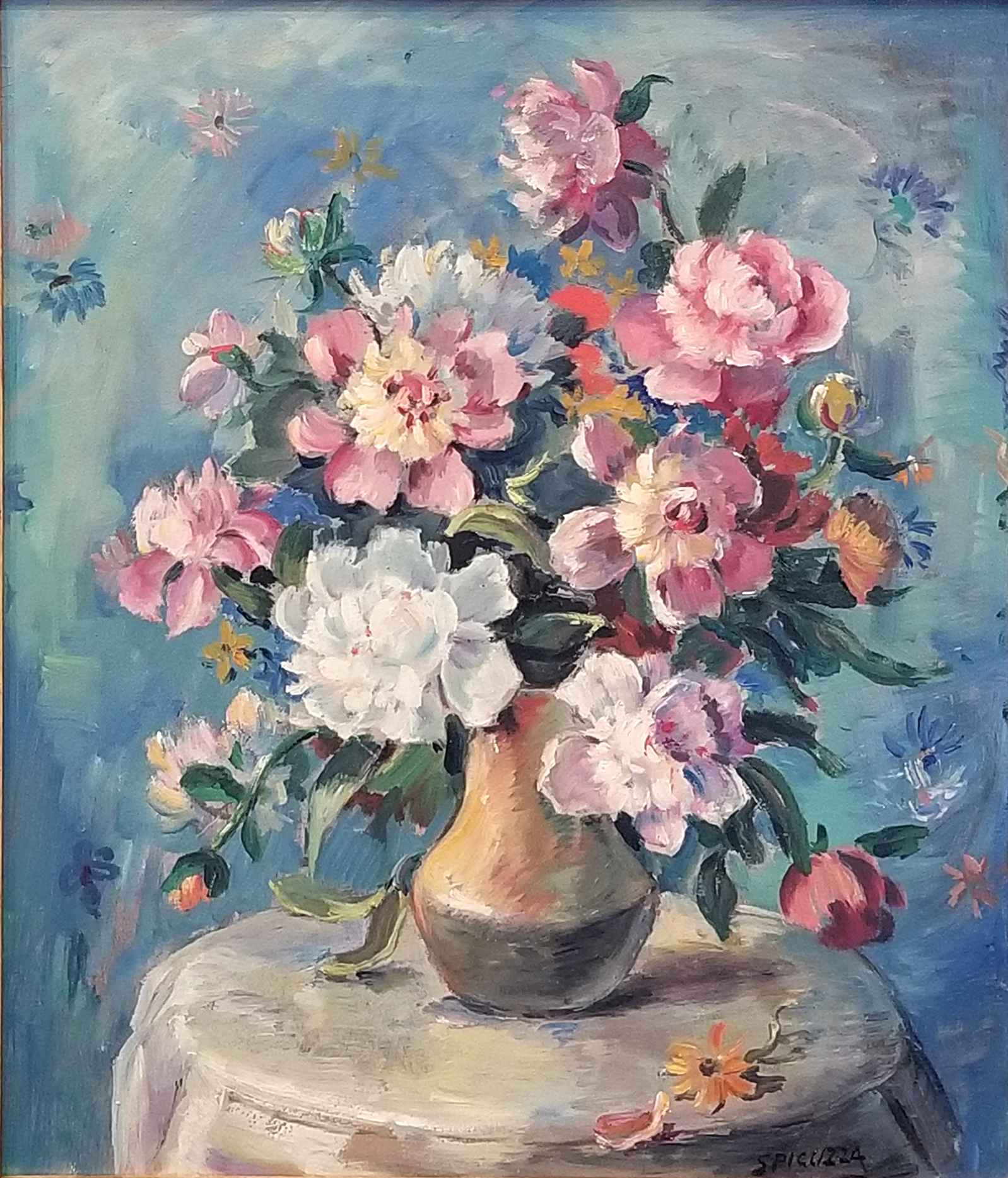 Untitled (Flowers in ... by Mr. Francesco Spicuzza - Masterpiece Online
