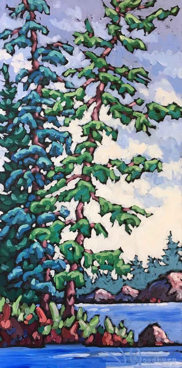 Growing Tall by Ms Jennifer Woodburn - Masterpiece Online