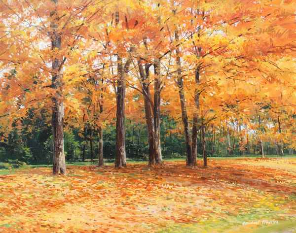Golden Canopy - Golde... by  Michael Wheeler - Masterpiece Online