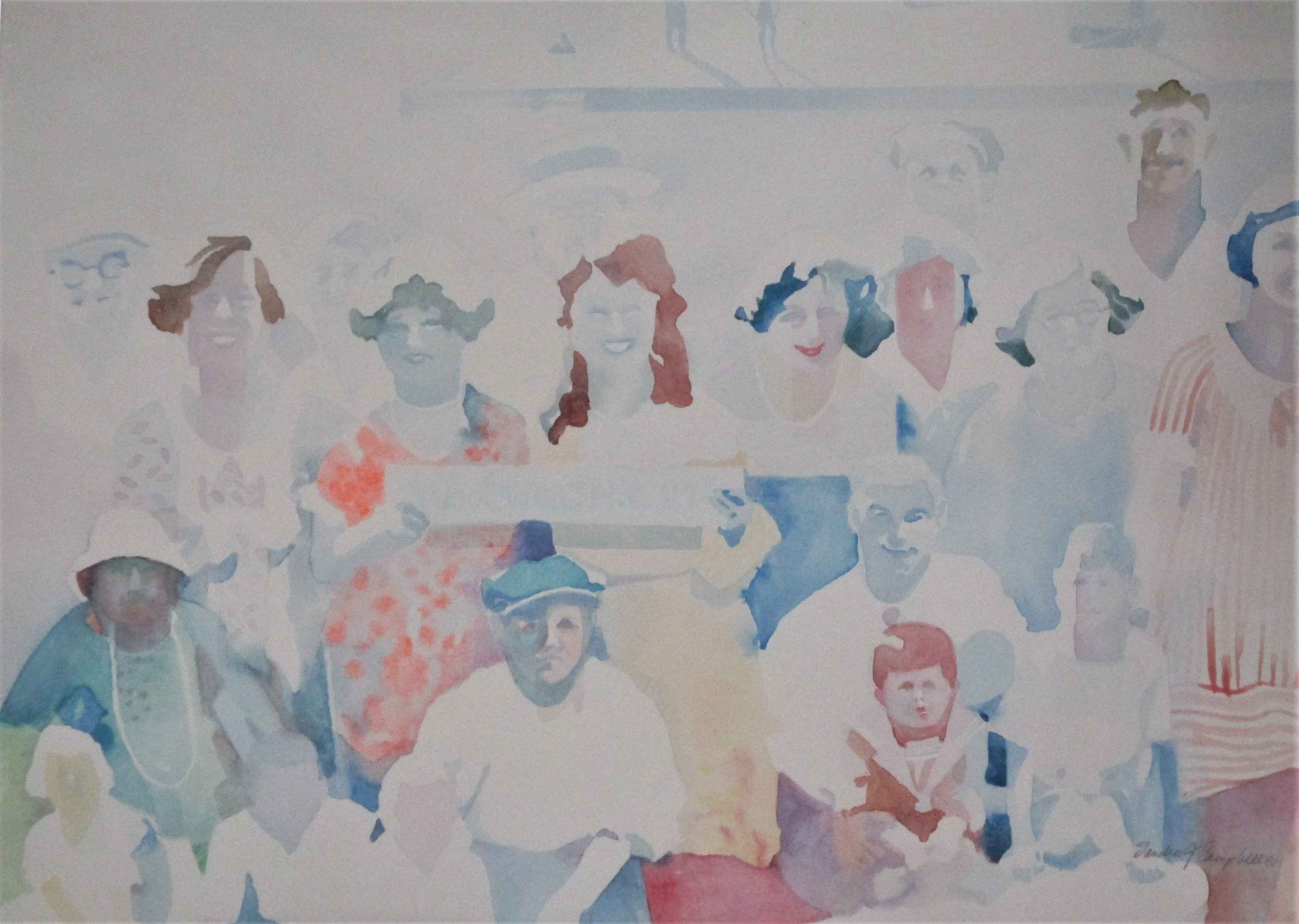 Summer Picnic by  Sandra Jones-Campbell - Masterpiece Online