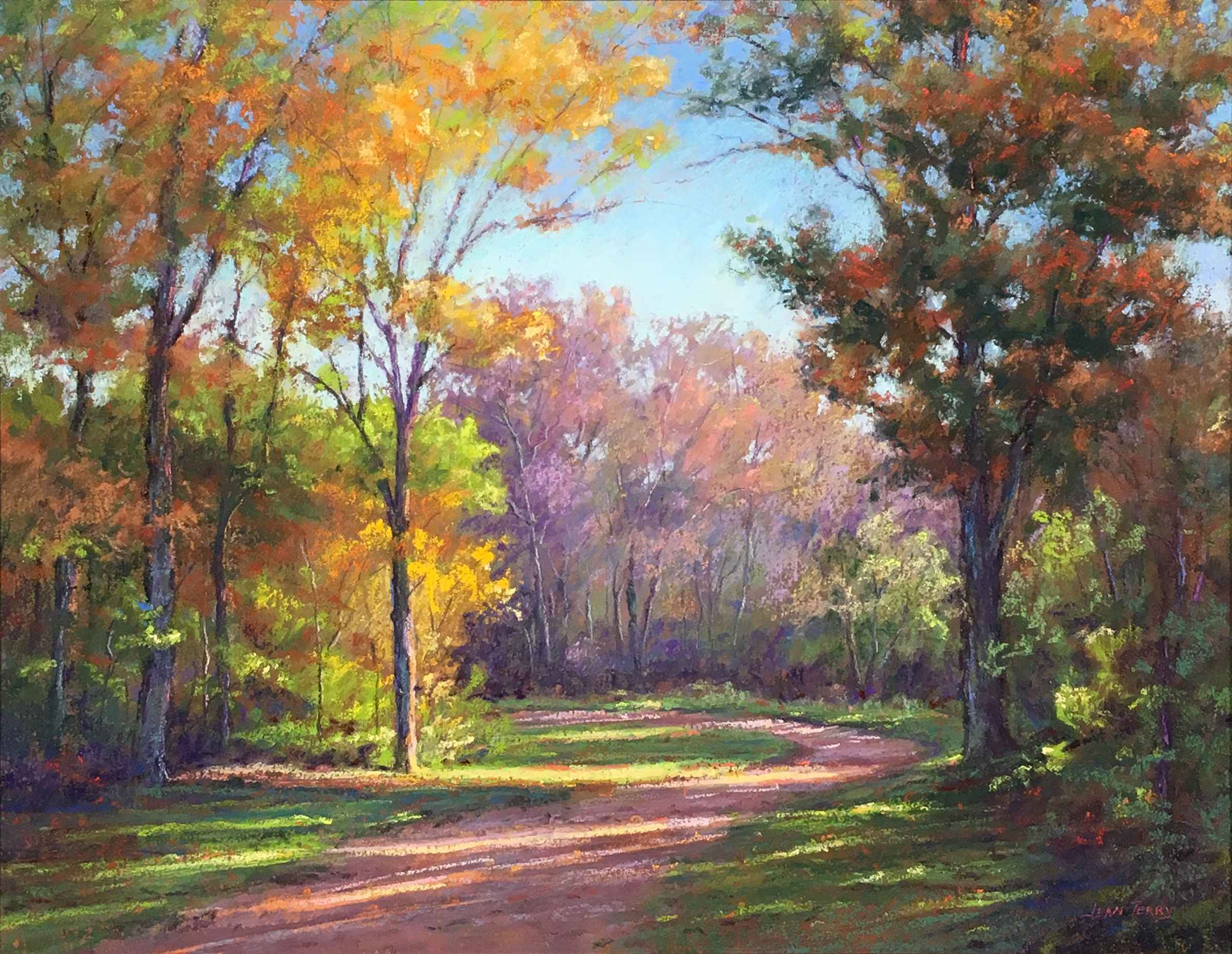 Woodland Path by  Jean Terry - Masterpiece Online