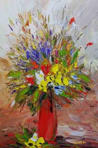 Vivid Bouquet represented  by  Louis  Magre