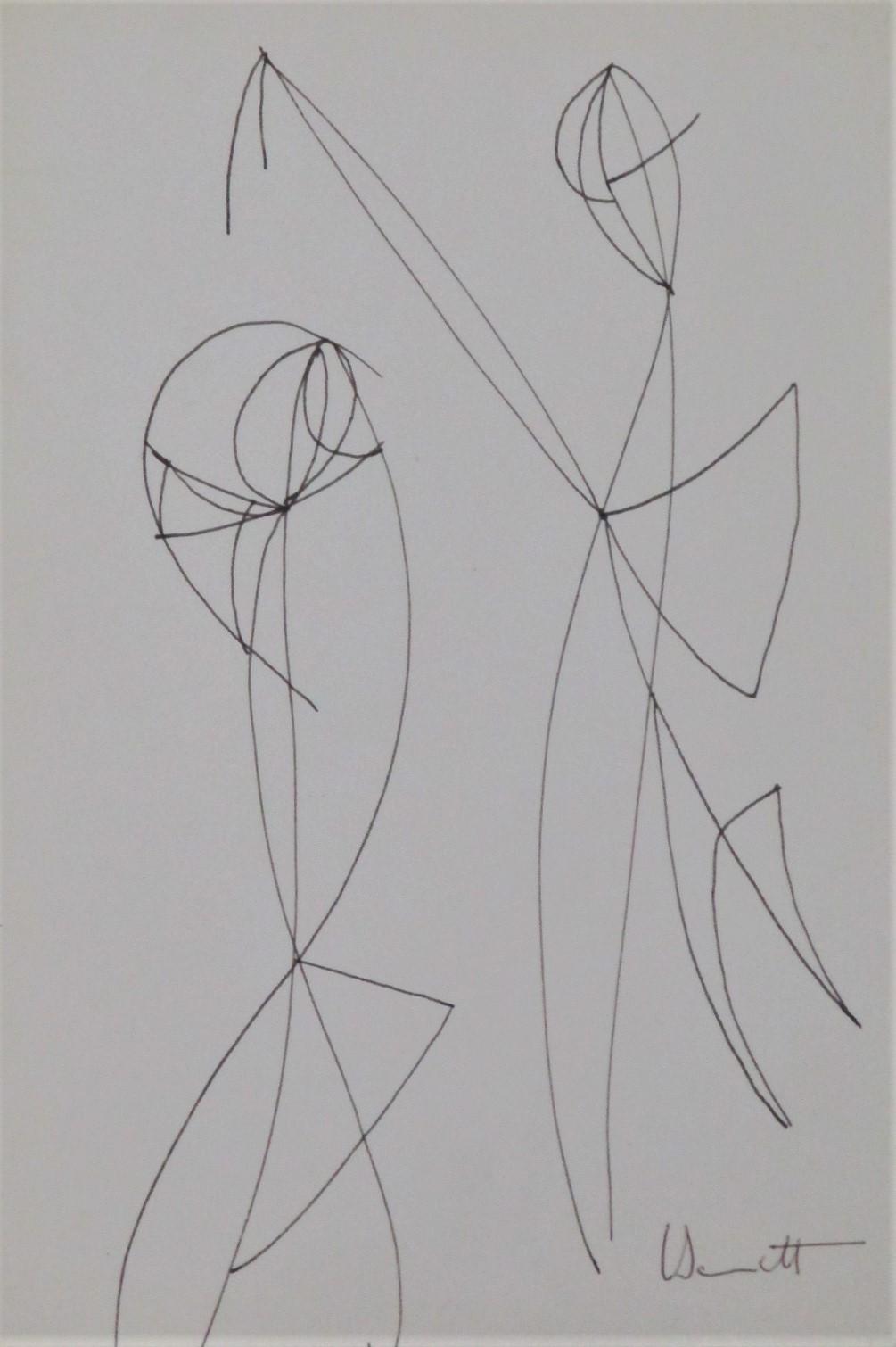 Title Unknown (2 legg... by  Eugene Bennett - Masterpiece Online