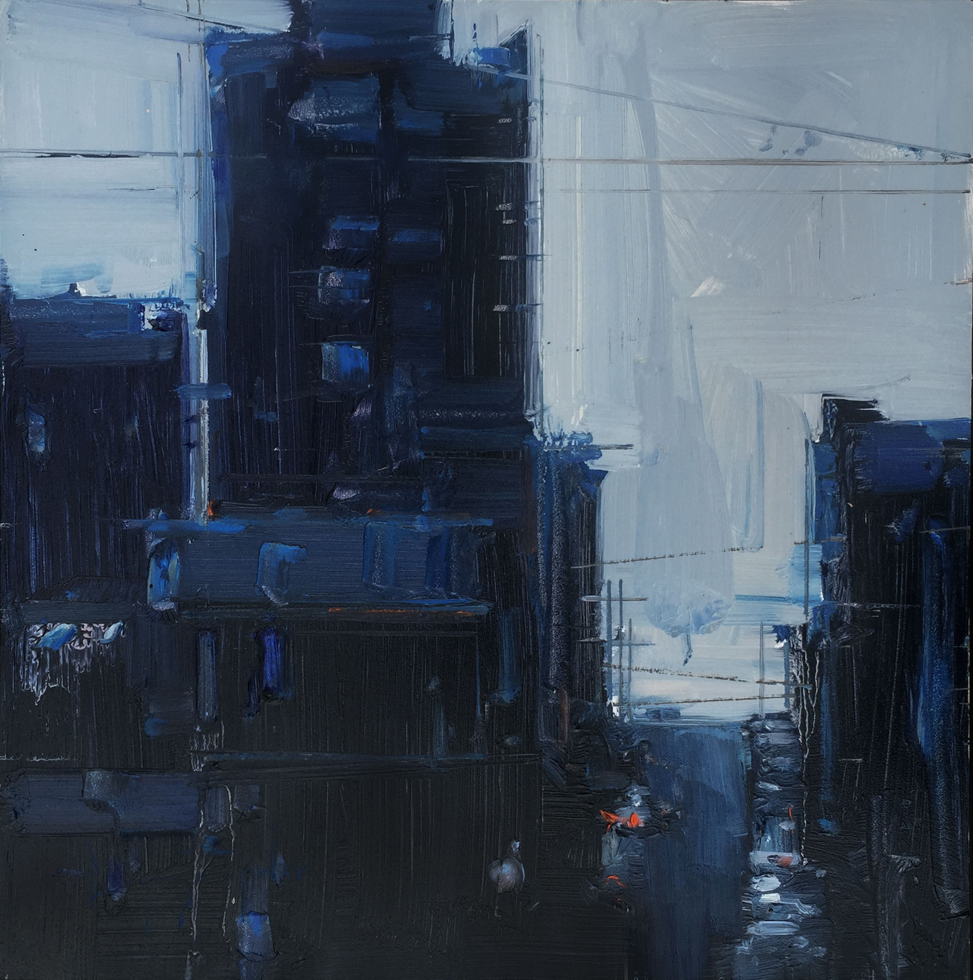 City In Blues  by  Bryan Mark Taylor