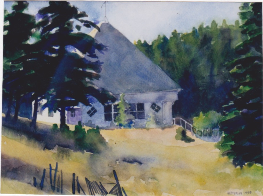 Frenchboro Schoolhous... by  Melissa Hefferlin - Masterpiece Online