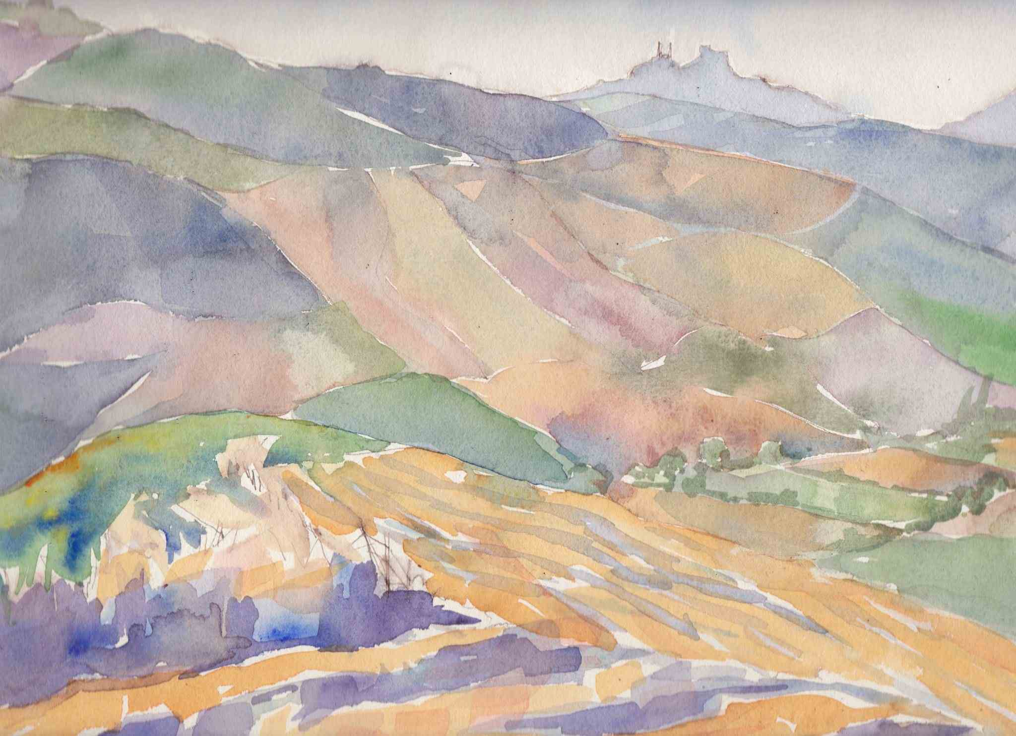 Summer Near Olvera by  Melissa Hefferlin - Masterpiece Online