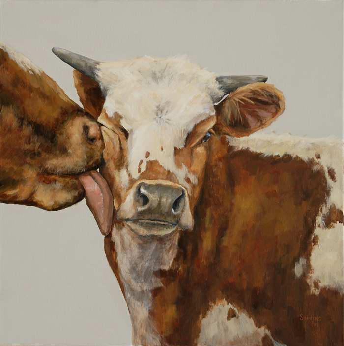 Cowlick by Ms Sandra Stevens - Masterpiece Online