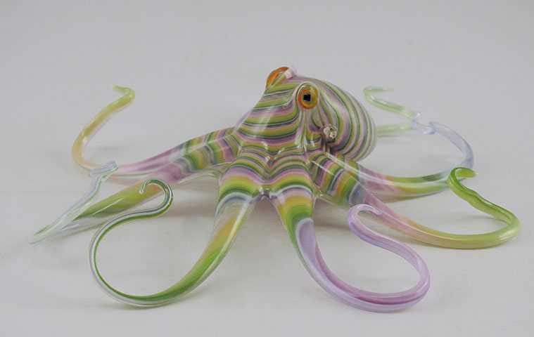 Octopus/Pastel by  Scott Bisson - Masterpiece Online