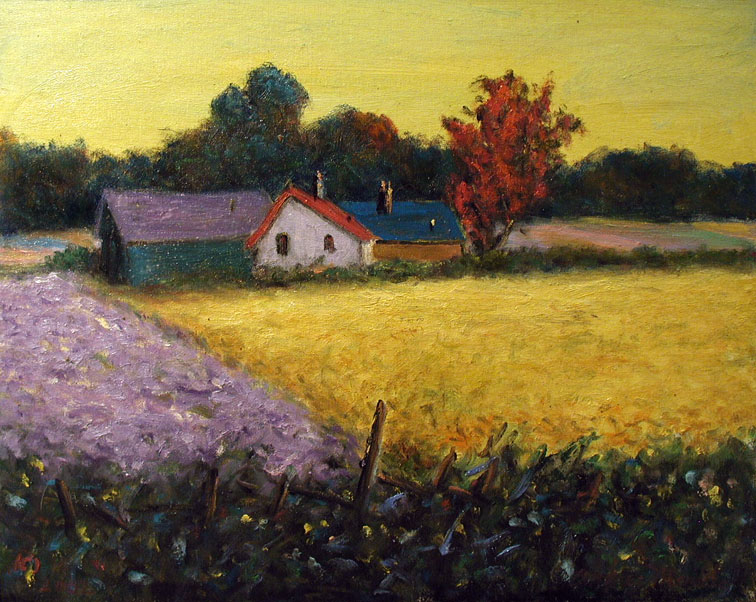 Lavender and Yellow F... by  Andres  Morillo - Masterpiece Online