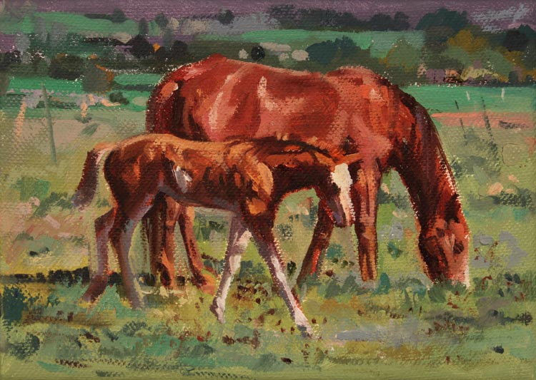 SOLD- Little Pale Fa... by  Barbara Summers Edwards - Masterpiece Online