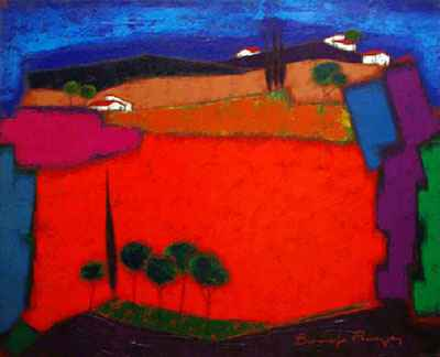 Les Cypres de la Cote... by  Roger Bonafe - Masterpiece Online