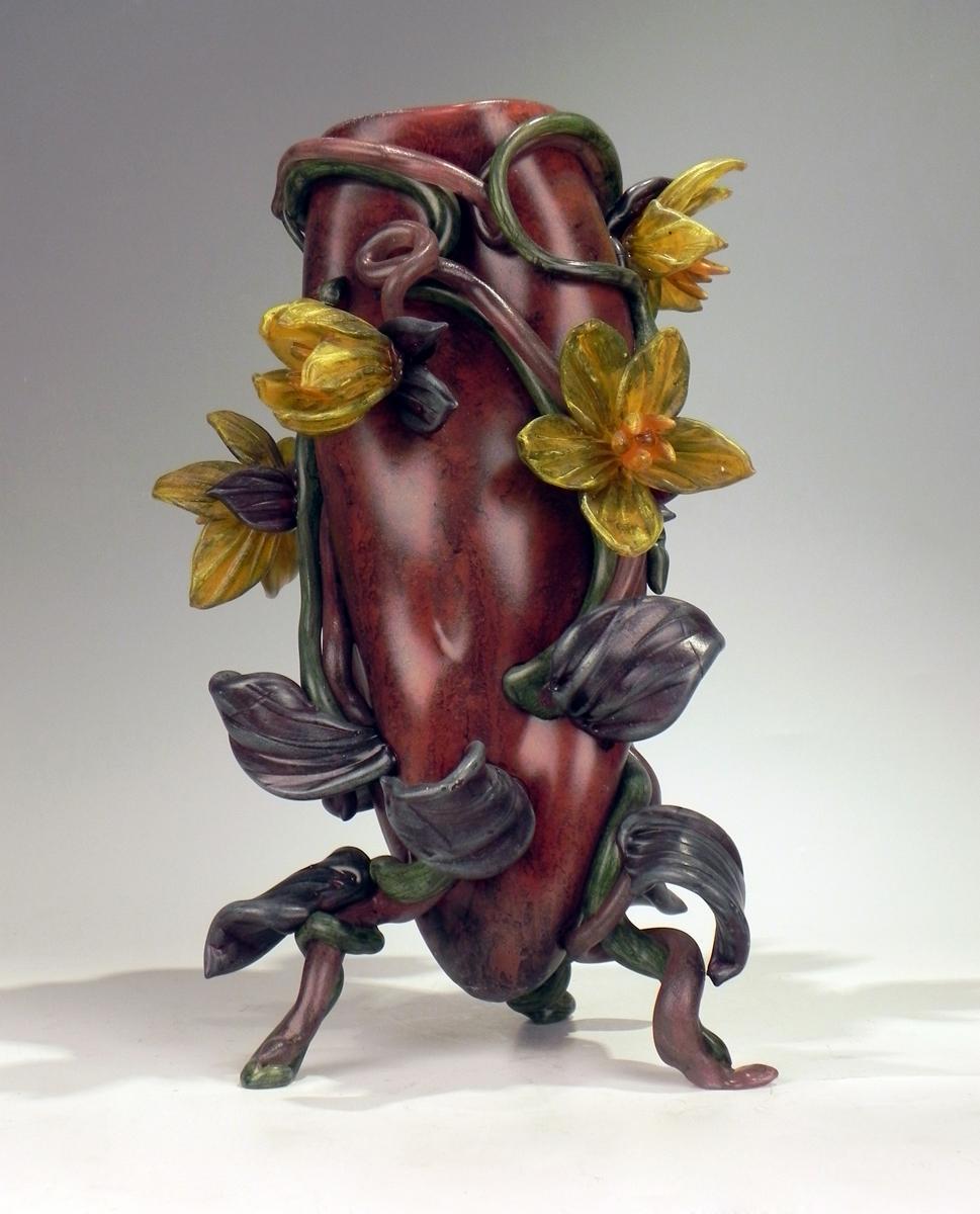 Flowering Vine Vase, ... by  Susan Rankin - Masterpiece Online