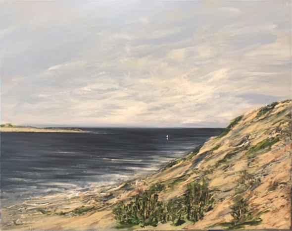 Dune & Blue Sea by  Steve Lyons - Masterpiece Online