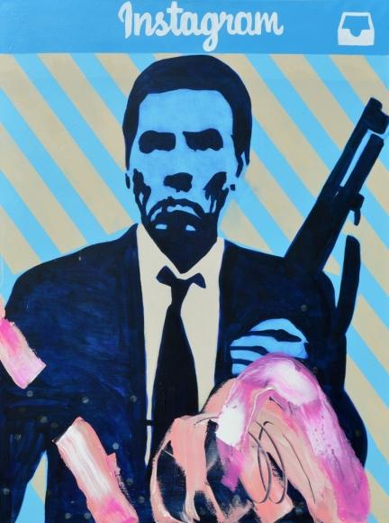 Insta -HEAT by  Frank Buffalo Hyde - Masterpiece Online