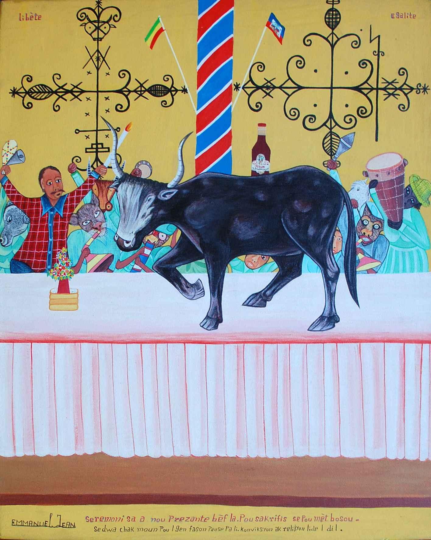 Ceremonie Bossou by  Jean EMMANUEL - Masterpiece Online