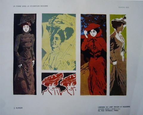 La femme dans la deco... by  Julius Klinger - Masterpiece Online