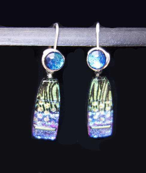 Fused Dichroic Glass ... by  Susan Pratt-Smith - Masterpiece Online